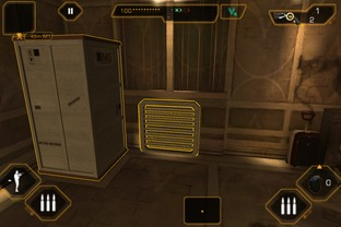 Test Deus Ex : The Fall iPhone/iPod - Screenshot 14