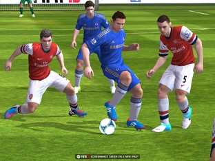 FIFA 13 disponible sur iOS