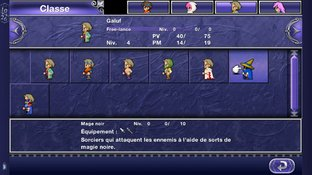Test Final Fantasy V iPhone/iPod - Screenshot 3