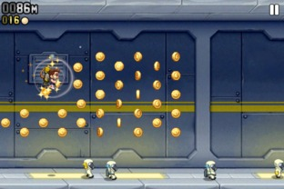 Test Jetpack Joyride iPhone/iPod - Screenshot 11