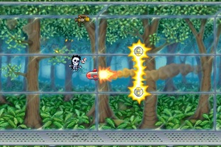 Test Jetpack Joyride iPhone/iPod - Screenshot 12