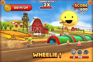 Test Joe Danger Touch iPhone/iPod - Screenshot 7