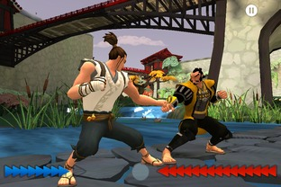 Test Karateka iPhone/iPod - Screenshot 4