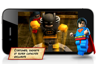 LEGO Batman disponible sur iPhone
