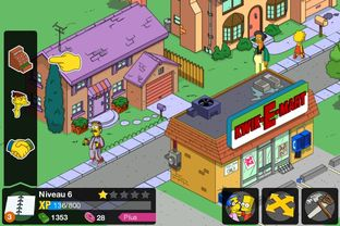 Test Les Simpsons : Springfield iPhone/iPod - Screenshot 7