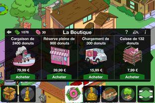 Fiche complète Les Simpson : Springfield - iPhone/iPod