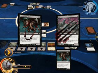 Test Magic : The Gathering : Duels of the Planeswalkers 2014 iPhone/iPod - Screenshot 12
