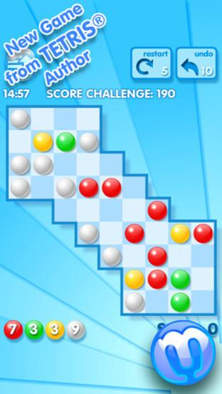 Marbly : Un nouveau puzzle-game par le créateur de Tetris
