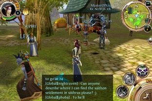 Test Order & Chaos Online iPhone/iPod - Screenshot 4