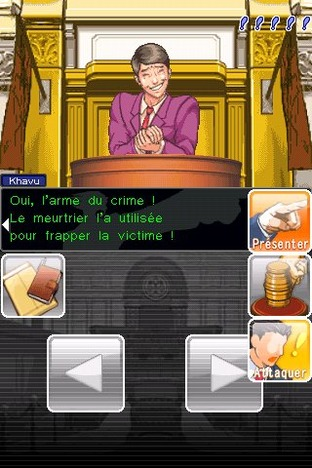 Test Phoenix Wright : Ace Attorney iPhone/iPod - Screenshot 15