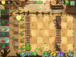 Plantes contre Zombies 2 : It's About Time iPhone