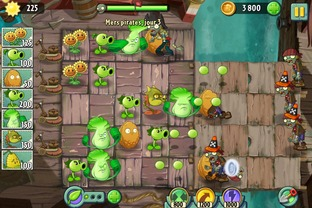 Test Plantes contre Zombies 2 : It's About Time iPhone/iPod - Screenshot 17