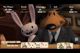 Test Poker Night 2 iPhone/iPod - Screenshot 3