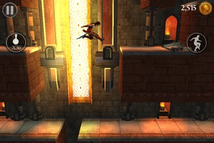 Test Prince of Persia : L'Ombre et la Flamme iPhone/iPod - Screenshot 4