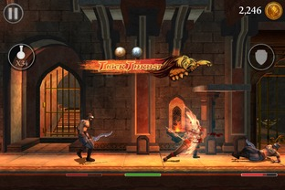 Test Prince of Persia : L'Ombre et la Flamme iPhone/iPod - Screenshot 5