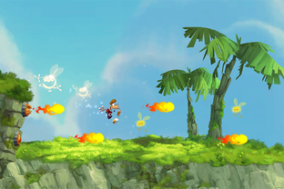 Aperçu Rayman Jungle Run iPhone/iPod - Screenshot 1