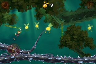 Test Rayman Jungle Run iPhone/iPod - Screenshot 11