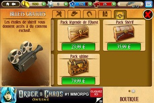 Test Six-Guns iPhone/iPod - Screenshot 2