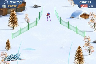 Test Ski Champion iPhone/iPod - Screenshot 3