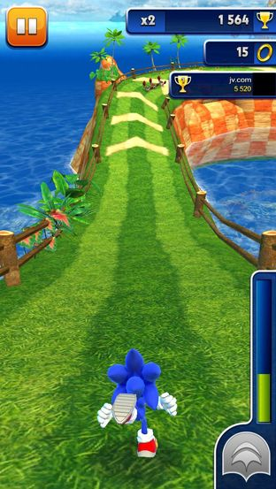 Test Sonic Dash iPhone/iPod - Screenshot 6