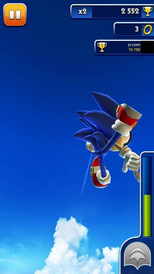 Test Sonic Dash iPhone/iPod - Screenshot 8