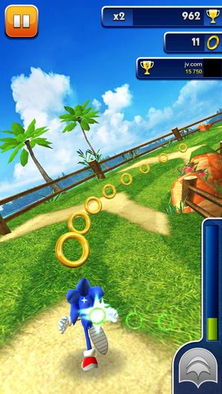 Test Sonic Dash iPhone/iPod - Screenshot 9