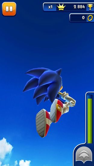 Test Sonic Dash iPhone/iPod - Screenshot 10