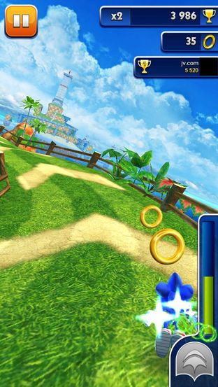 Test Sonic Dash iPhone/iPod - Screenshot 16