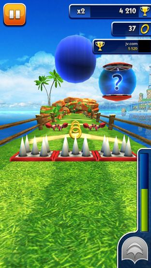 Test Sonic Dash iPhone/iPod - Screenshot 17