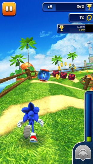 Test Sonic Dash iPhone/iPod - Screenshot 19