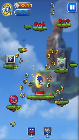 Pictures of Sonic Jump