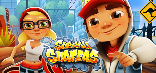 test du jeu subway surfers sur ios. Black Bedroom Furniture Sets. Home Design Ideas
