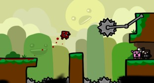 Super Meat Boy iOS en pause