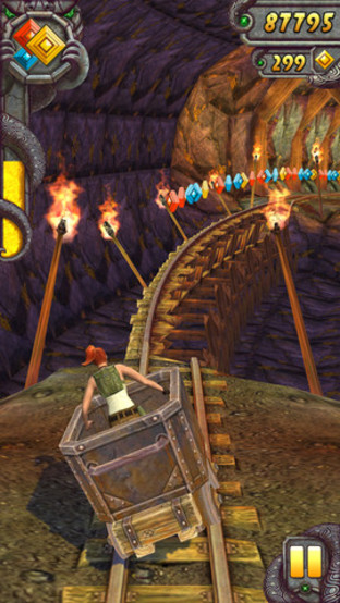 Temple Run 2 : Plus de 50 millions de téléchargements