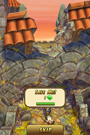 Test Temple Run 2 iPhone/iPod - Screenshot 7