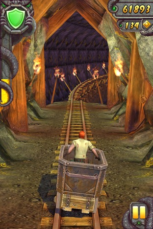 Test Temple Run 2 iPhone/iPod - Screenshot 10