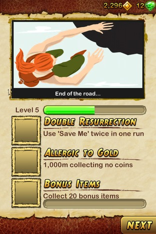 Test Temple Run 2 iPhone/iPod - Screenshot 14