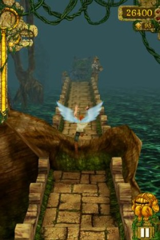 Test Temple Run iPhone/iPod - Screenshot 6