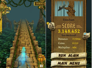 Temple Run iPhone/iPod