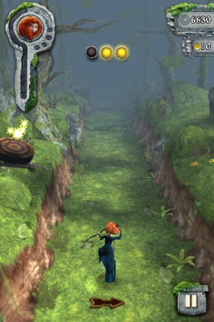 Test de Temple Run : Rebelle sur iPhone/iPod - 18/06/2012