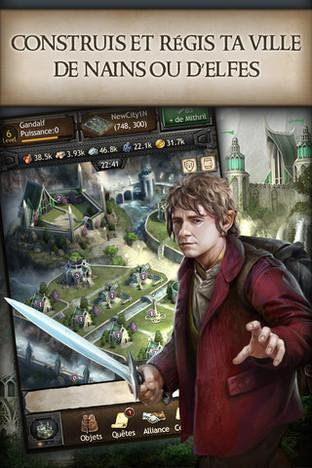 Les Hobbits envahissent vos smartphones