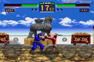Test Virtua Fighter 2 iPhone/iPod - Screenshot 1