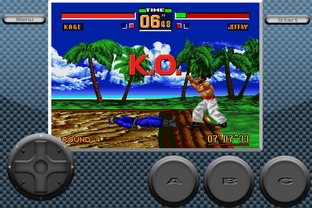 Test Virtua Fighter 2 iPhone/iPod - Screenshot 2