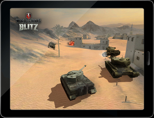 Aperçu World of Tanks Blitz - GDC 2013 iPhone/iPod - Screenshot 1