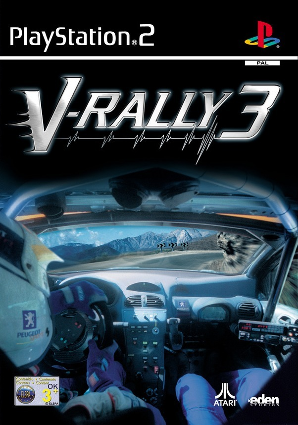 v rally 3 sur playstation 2. Black Bedroom Furniture Sets. Home Design Ideas