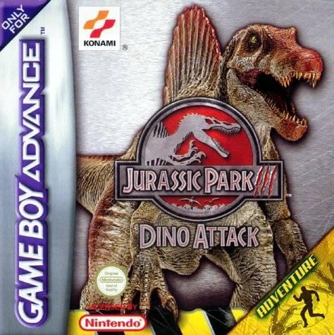 Jurassic park iii dino attack sur gameboy advance - Jeux de jurassic park 3 ...