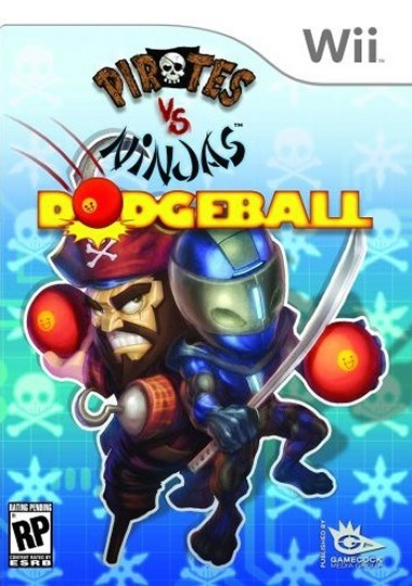 Pirates vs Ninjas Dodgeball [FR] Wii [SCRUBBED] [FS]