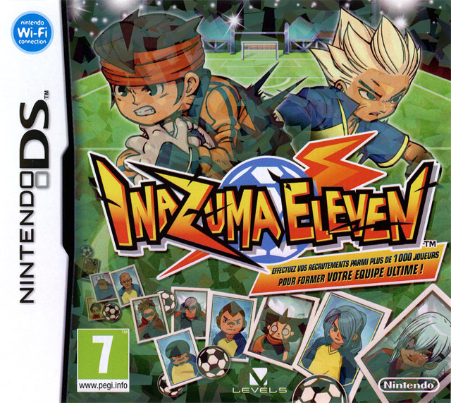 inazuma eleven sur nintendo ds. Black Bedroom Furniture Sets. Home Design Ideas
