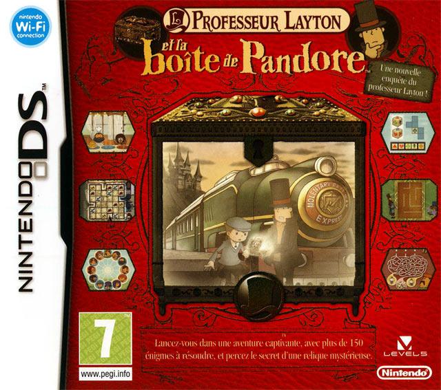 Professeur Layton et la Boîte de Pandore DS