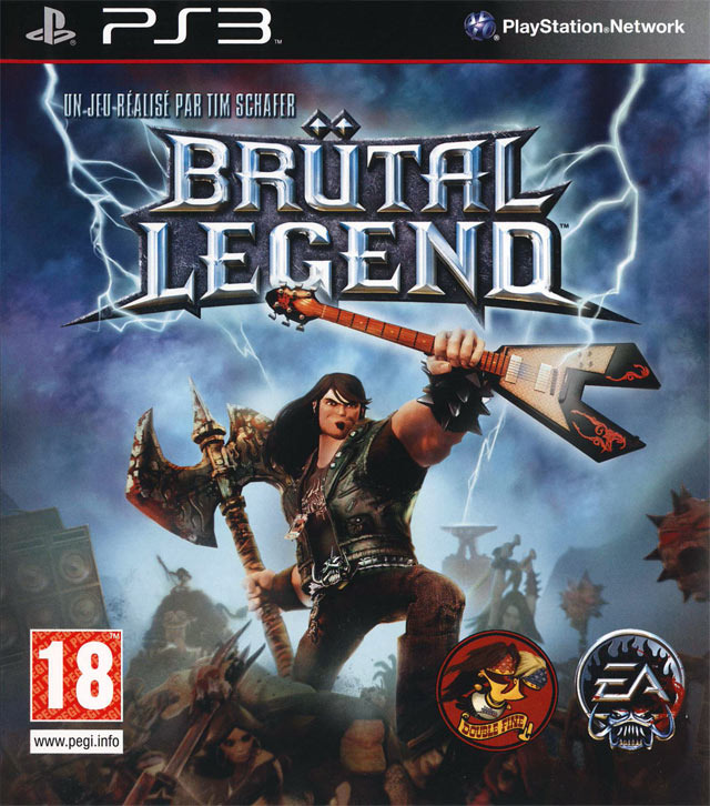 jaquette brutal legend playstation 3 ps3 cover avant g Brutal Legend | EUR [ PS3 ]